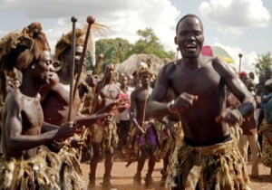 部族の踊り