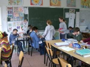 フレネ学校授業風景