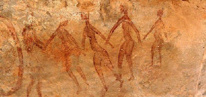 アルジェリアの洞窟壁画①20200911